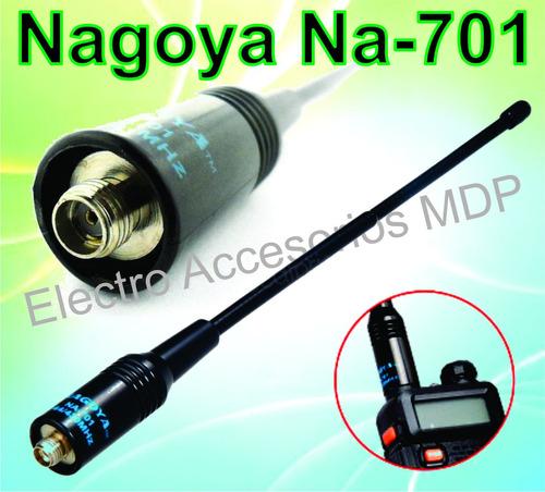 antena nagoya na-701 - vhf/uhf - 100% flexibles. baofeng