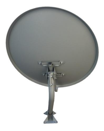antena offset banda ku de 60 cm para sky oitv clarotv