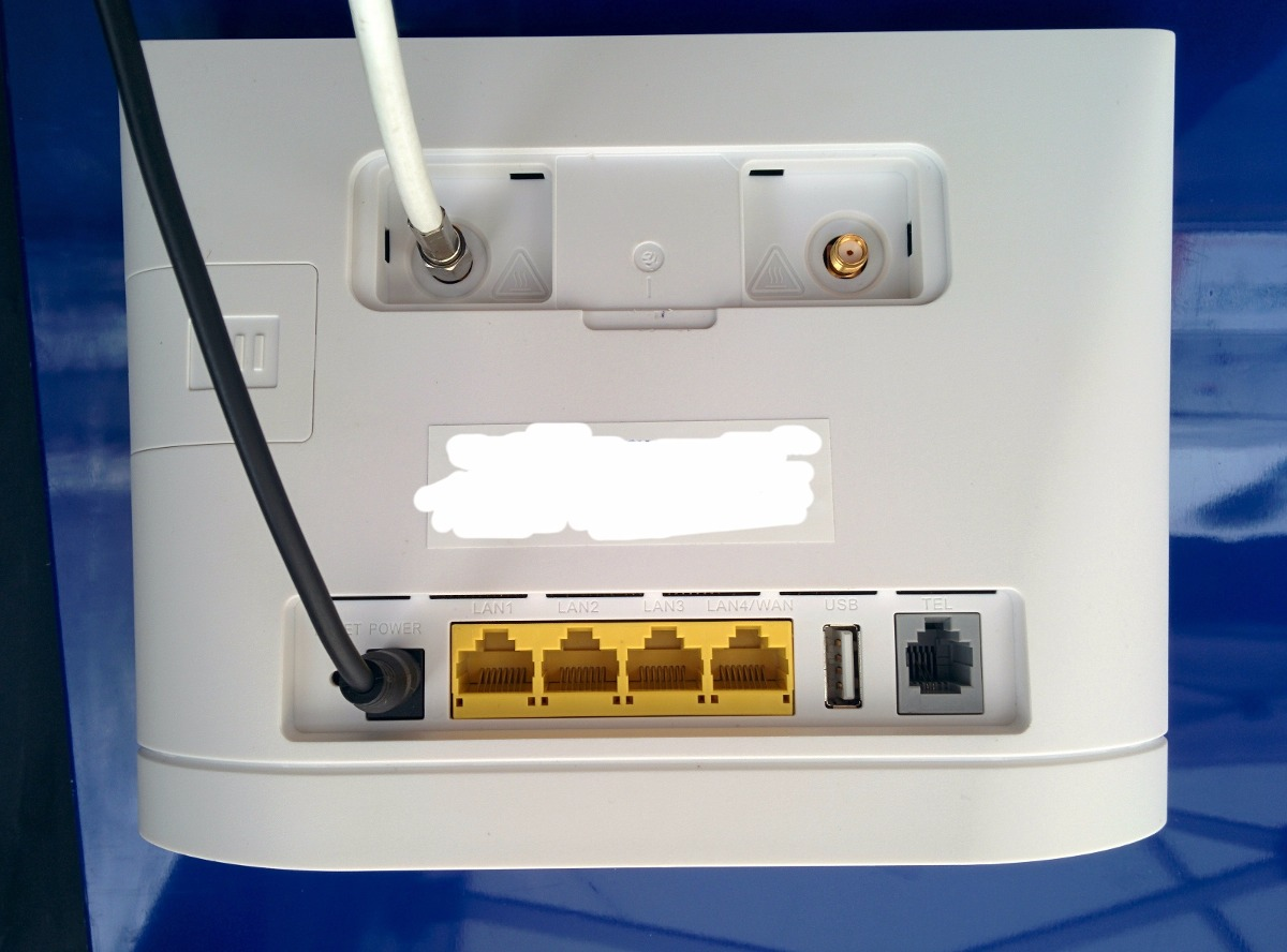 Antena Panel 4g Lte 3g Para Router Internet Entel Bitel