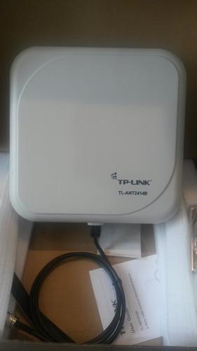 antena panel wifi 2.4 - 5.1 ghz de 14dbi tplink tl-ant2414b