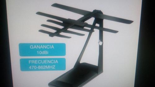 antena para televisor plana