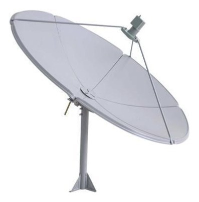 antena parabólica banda c de 2.40 mts