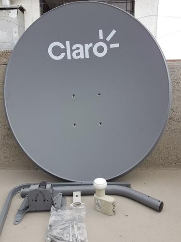antena parabolica de 85cm + lnb 3 db original
