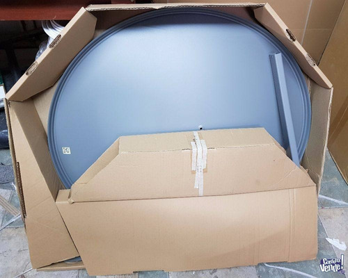 antena parabolica satelital nueva 76 cm con soporte lnb