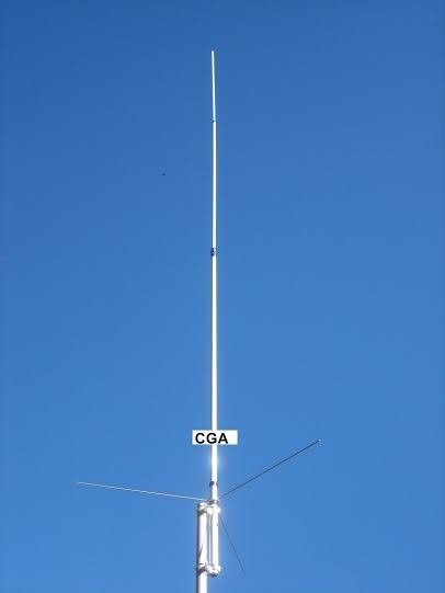 Antena Radio Base Vhf Uhf 144 440 Dual Band Uvs 200