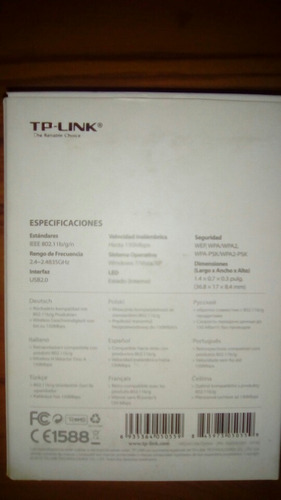 antena receptor de wifi tp-link