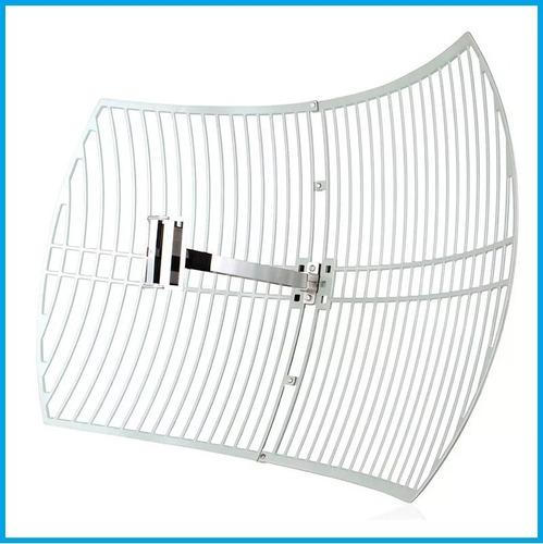 antena rejilla tp-link tl-ant2424b 2.4ghz 24dbi parabolica