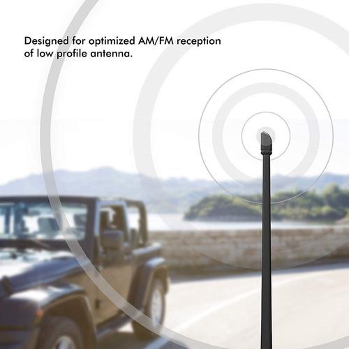 antena rydonar receptor fm am  jeep wrangler jk jku jl jlu