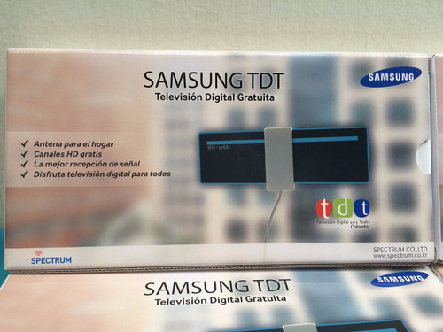 antena samsung tdt2 television digital terrestre dvb-t2 tdt