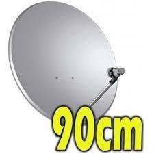antena satelital 90 centimetros con lnb