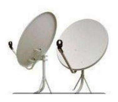 antena satelital de 0,90 x 1.00