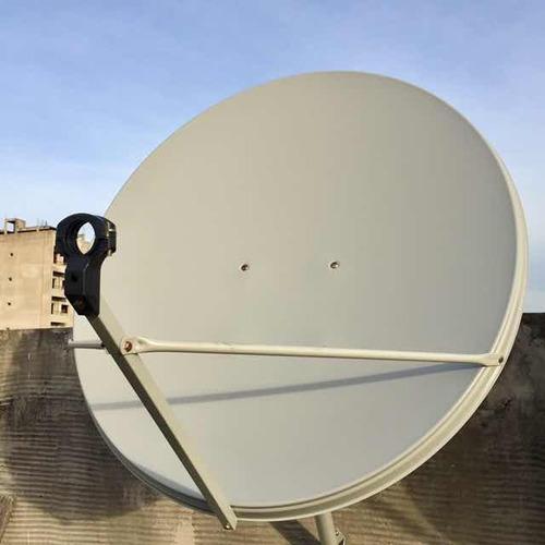 antena satelital de 90 banda ku + soporte lnb