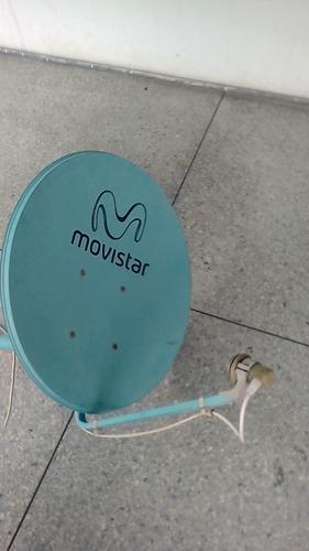 antena satelital movistar
