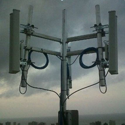 Antena sectorial wifi 2 4 ghz rocket m2 red wifi - Soporte para antena ...