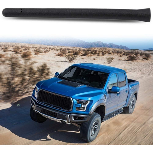 antena short custom 6 3 4 para ford f150 / f-150 raptor 2009