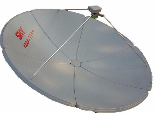 antena sky 1,50 original 12x s/juros  promoçao banda ku