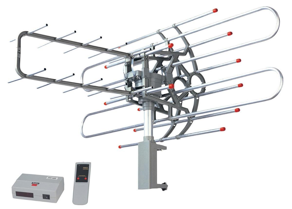 Antena Sonett Tv Control Remoto Rotación 360 Vhf Uhf