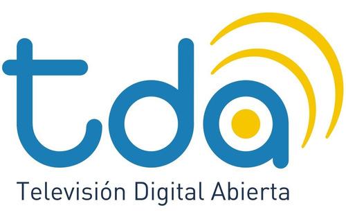antena tda exterior tv hd digital satelital con cable 10 mts