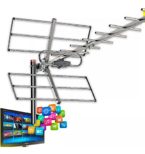 antena tda exterior tv hd digital satelital megalite