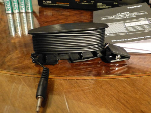 antena tecsun  para radio sw jack 3.5 mm