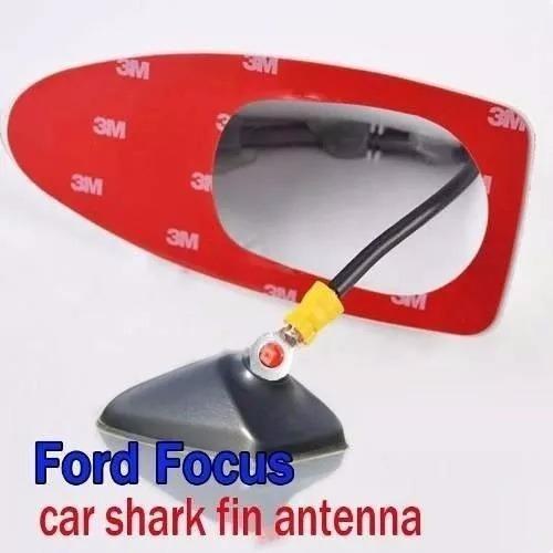antena tiburon am/fm auto plateado negro blanco rojo bmw