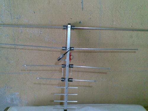 antena tv color hd de 8 elementos