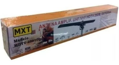 antena tv digital amplificada uhf vhf hdtv 25db externa