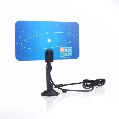 antena tv digital dtv uhf vhf para tv lcd hd alta ganancia