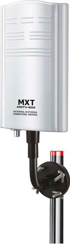 antena tv digital interna externa amplificada 20 db uhf vhf