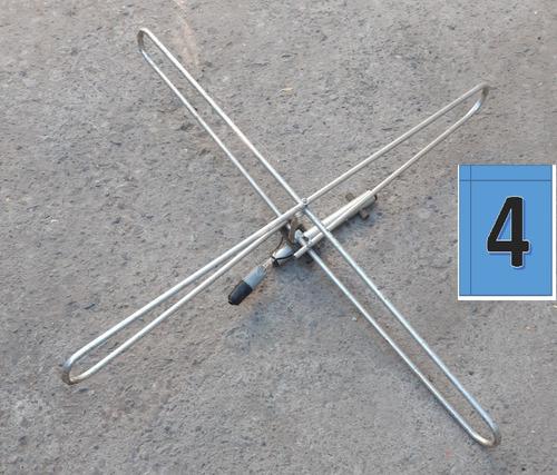 antena tv televisión camión-bus aluminio + cable coaxial 15m