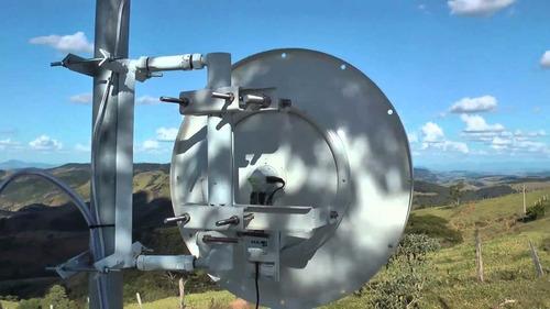 antena ubiquiti 34 dbi enlaza hasta 80 kilometros