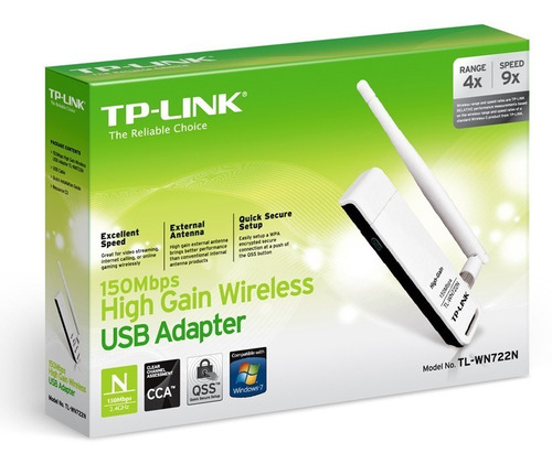 antena usb wifi alta ganancia p windows y mac tl-wn722n