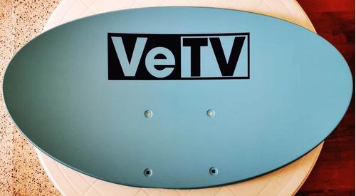 antena vetv  (incluye kit completo de instalación sencilla)
