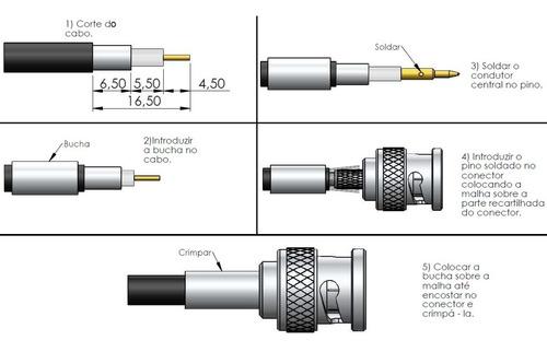 antena vhf móvel 1/4 de onda whip conector bnc - ap2976
