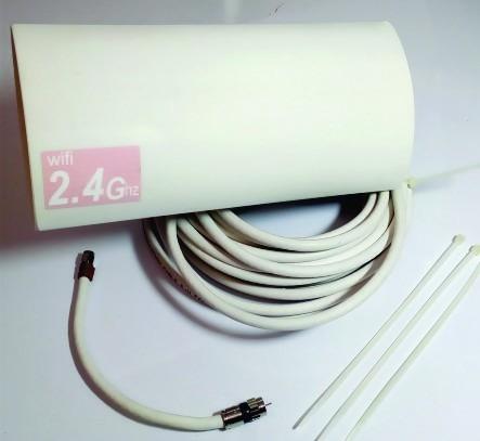 antena wifi 18db direccional alto alcance punto a punto