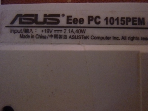 antena wifi 49 cm netbook asus eee pc 1015