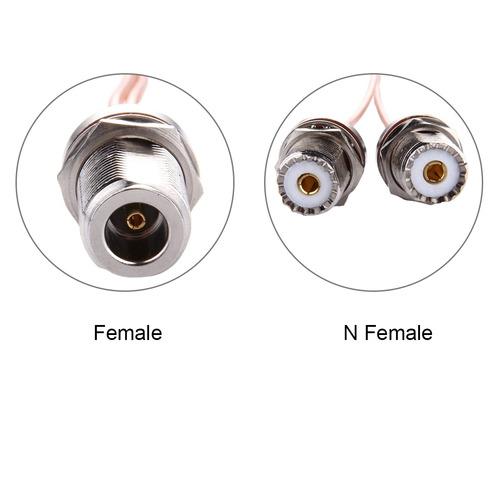 antena wifi conector hembra anillo prueba agua 2 uhf cable