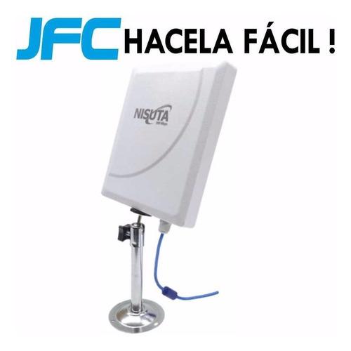 antena wifi exterior 6km nisuta la mas potente nueva version