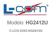 antena wifi o bluetooth omnidireccional 2.4ghz de 12dbi hm4