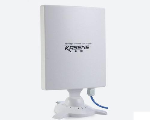 antena wifi rompemuros usb alta potencia n9600 6600mw 80dbi