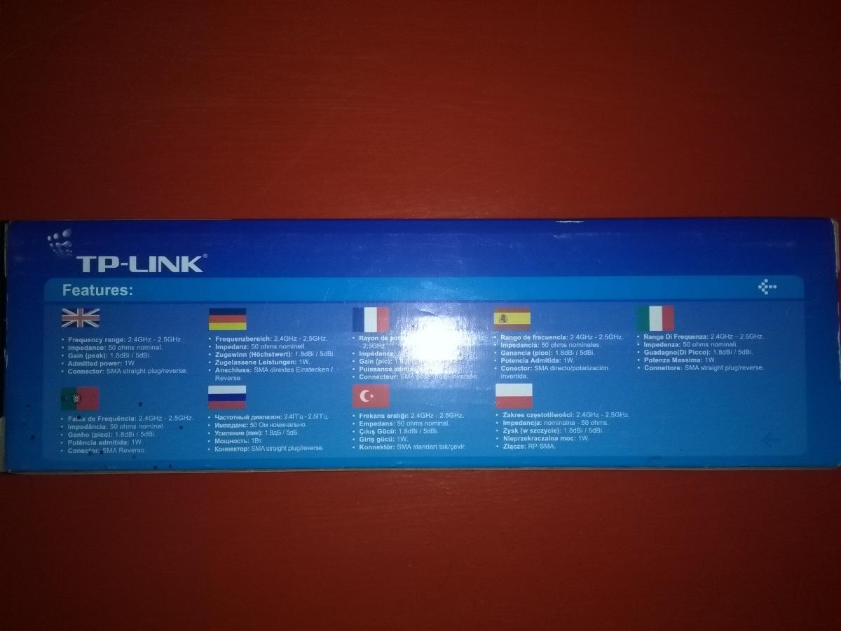 Antena Wifi Tp Link Tl Ant2405c 5dbi 24ghz Nueva 25900 En Indoor Desktop Omni Directional Antenna Cargando Zoom
