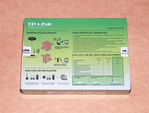 antena wifi tp-link tl-wn7200nd rompemuros