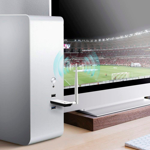 antena wifi usb 150 mbps alta potencia laptop pc tl-wn722n