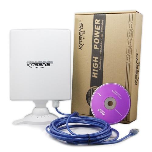 antena wifi usb rompemuros kasens n9600 80dbi 6600mw oferta