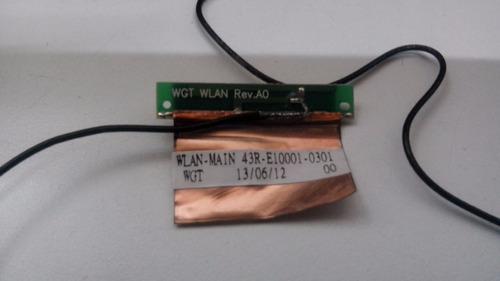 antena wireless 43r-e10001-0301 netbook philco 10d-b123lm