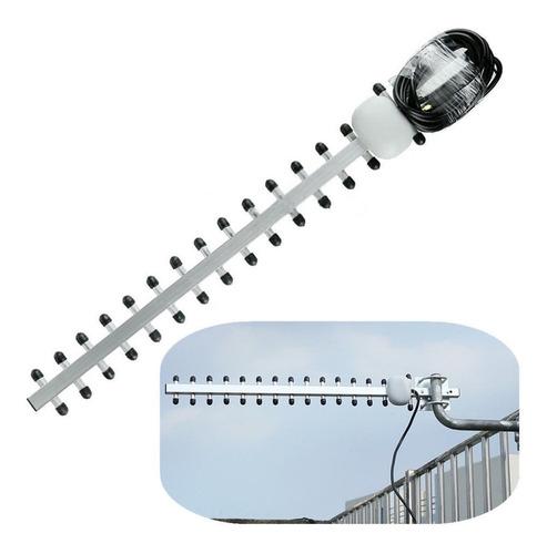 antena yagi 25dbi celular 800-2700mhz 3g 4g externa sma male