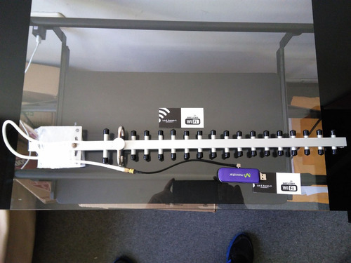 antena yagi 4g para router huawei b310, b315, mr6400