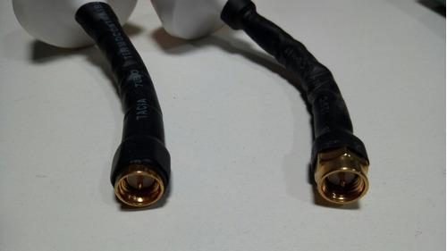 antenas (el par) fpv sma tx y rx 5.8 ghz