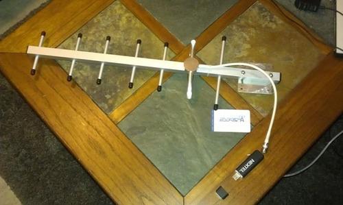 antenas yagi de 12 dbi especiales dual band 850 - 1900 mhz