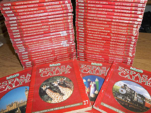 anteojito espasa calpe 54 libros colección completa liquido